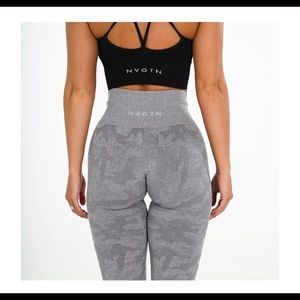 NVGTN camo leggings in Light Grey